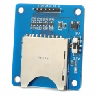 V76 Multi-Functional SD / Micro SD (TF) Card Dual-Side Reading Writing Module - Blue + Silver