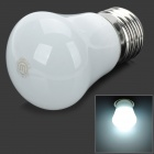 Cnlight CNQM0301PW E27 3W 180lm 5500K 4-SMD 5630 LED Cool White Light Lamp Bulb - White (220V)
