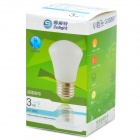 Cnlight CNQM0301PW E27 3W 180lm 6000K 4-SMD 5630 LED Cool White Light Lamp Bulb - White (220V)