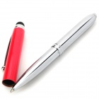 3-in-1 Ballpoint Pen + Capacitive Screen Stylus Pen + LED Flashlight for Iphone / Ipad - Red