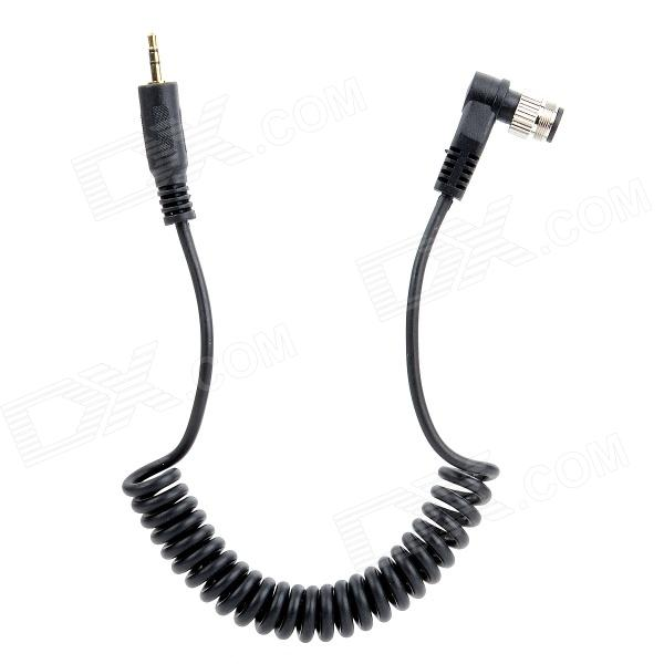 JJC Cable B Remote Control Connecting Cord for Nikon MC-30 D700 D800 Fuji - Black jjc cable f shutter release cable for sony rm s1am a900 a850 a700 a580 black