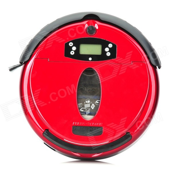 Good Robot Smart Robotic Auto Vacuum Cleaner w/ Remote Controller - Red (100~240V / AU Plug) eworld m883 vacuum cleaner smart sweeping rechargeable robot vacuum cleaner remote controlled automatic dust home cleaner