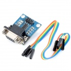 RS232 to TTL Serial Communications Module w/ Indicator - Blue + Black