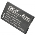 DEJI DJ-8100 Replacement Battery for BlackBerry 8100 / 8110 / 8120 / 8130 / 8220 - Black