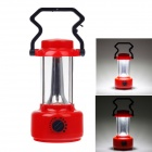 RL 7036 Rechargeable 6500K 365lm 36-SMD 3258 Camping Lantern w/ Compass - Red+ Black
