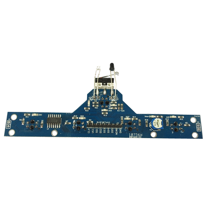 5-CH White Black Line Tracing Module - Blue
