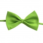 Adjustable Pet Dog Cat Handsome Butterfly Bow Tie - Green
