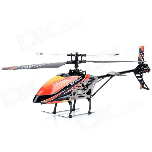 WLtoys V912 4-CH 2.4GHz Radio Control Single Propeller R/C Helicopter - Orange + Black