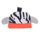 Cute Tassel Cartoon Style Baby Hat Cap - White + Black + Orange