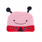 Cute Honeybee Style Baby Hat Cap - Pink + Red + Black