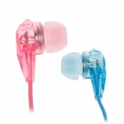 W-TV1 Sweet High Resolution In-ear Earphone - Multicolored (3.5mm-Plug / 120cm-Cable)