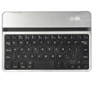 YERJ-K82S Aluminum Alloy Bluetooth V3.0 59-key Keyboard for Ipad MINI - Black