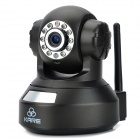 KARE 720P Wireless Wi-Fi P2P P/T Surveillance Security IP Camera w/ 11-IR LED / IR Cut / TF - Black