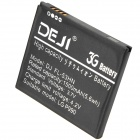 DEJI DJ FL-53HN 3.7V 1500mAh Li-ion Battery for LG P990 / 53HN - Black