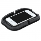 Anti-skid Rubber Stand Holder Pad for Mobile Phone - Black