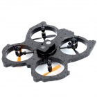 HUAJUN W608-1 2.4GHz Radio Control 4-CH Quadcopter R/C UFO - Black + Orange