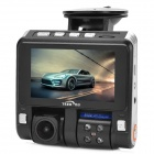 "TEER H7180 HD 1080P 3.0"" TFT 5.0MP CMOS Wide Angle Car DVR w/ HDMI / AV-OUT / 4-IR LED - Black"