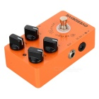 Caline CP-18 Electric Guitar Overdrive Guitar Effect Pedal - Orange + Black + Silver