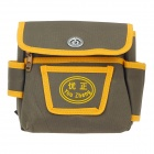YouZheng 5-in-1 Oxford Cloth Professional Tool Bag for Craftsman- Yellow + Green