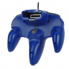 Wired Joystick Video Game Controller for Nintendo 64 - Blue (200cm-Cable)