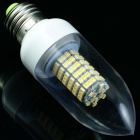 TZY t291 E27 5.8W 250lm 2700K 120-SMD 3528 LED Warm White Energy Saving Light Bulb (AC 220V)