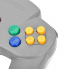 Video Game Wired Controller Joypad Joystick for Nintendo N64 - Grey (200cm-Cable)