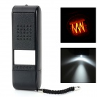USB Powered Electronic Rechargeable Cigarette Lighter - Black