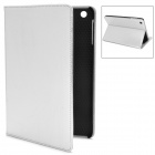Squirrel Texture Protective PU Leather Case for Ipad MINI - Silver