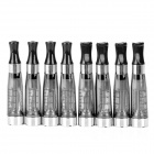 CE4 PVC + Stainless Steel Atomizer w/ Scale Display for Electronic Cigarettes - Black (8 PCS)