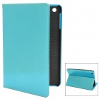 Squirrel Texture Protective PU Leather Case for Ipad MINI - Blue