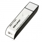 LB BL-LW06-1R USB 2.0 IEEE802.11b/g/n 300Mbps WLAN Wireless Network Adapter - Black + White