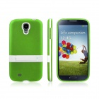 ENKAY Protective Soft TPU + Plastic Case Cover for Samsung Galaxy S4 / i9500 - Green