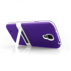ENKAY Protective Soft TPU + Plastic Case Cover for Samsung Galaxy S4 / i9500 - Purple