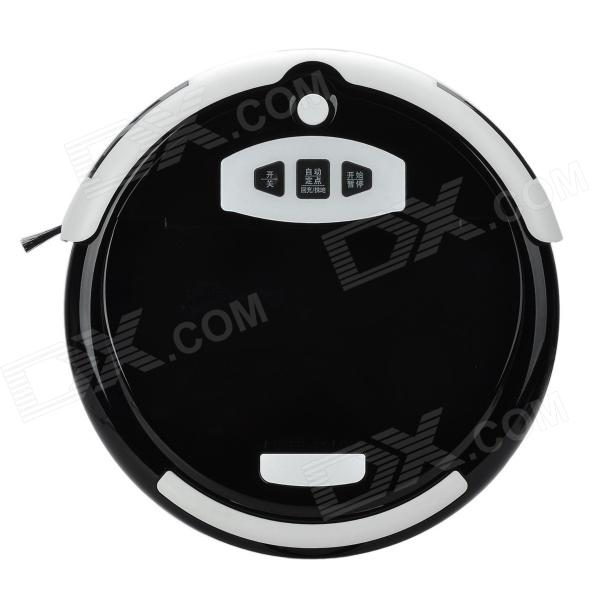Good Robot 740A(FA-530) Home Smart Sweeping Mopping Vacuum Cleaner - Black + White - DXOther Electronics<br>User Manual: http://m5.img.dxcdn.com/CDDriver/img/221510-YB01125.doc Brand Good Robot Model 740A(FA-530) Color Black + white Material ABS + PC Quantity 1 Type Round shaped Function Vacuum sweeping mopping Power Supply 100~240V Power Plug Australia Plug Certification RoHS / CE Other Strong automatic returns charging function: Start robot automatic charging mode it will automatically return to charging mode and enter into standby mode after finishing work; Smart dust sensor system: It will automatically sensor the amount of dust and adjust the working mode and cleaning time according to the dust area; With reset time to clean function: Reset time to clean your house after you going to work to make your house clean everyday; Out of trap function: Smoothly skip the wire or other goods with 2cm height; Anti-drop function: Automatically detect danger such as chair desk or others to avoid damage; Auto cleaning mode: Personalized cleaning mode for various home environment providing best sweeping results; Super low noise: It has only less than 55dB noise; Flexible side brush: Independently control the side brush high speed rotating sweeping the dust and rubbish into the box at the corner of wall; Unique mopping function: Super large area of mopping after installed the cleaning board and towel (Dry and wet mopping selectable); Large capacity of dust box: 0.7L; Smart charging indicator design: Green light flashes indicating in charging green light steady on indicating fully charged. Battery has anti-explosion and over-heat protection; Virtual wall function: The infrared ray of the virtual wall can reject the cleaner into the area; Super small body with 32cm diameter and 9cm ultra-slim height design convenient to enter into the bottom of bed o sofa; One button to operate easy to use. Packing List 1 x Vacuum cleaner 1 x Virtual Wall 1 x Australian power plug (100~240V / 180cm) 1 x Cleaning brush 1 x Cleaning cloth 1 x English / Chinese user manual 1 x Side brush 1 x Remote controller (Powered by 1 x CR2025 battery included) 1 x Charging dock<br>