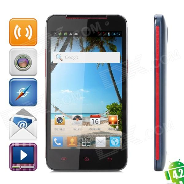 "Neken N5 Quad-Core Android 4.2.1 WCDMA Smartphone w/ 4.7"" IPS, Wi-Fi, GSP and Dual-SIM (ROM 4GB)"