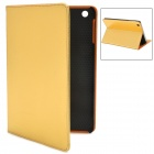 Squirrel Texture Protective PU Leather Case for Ipad MINI - Golden