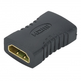 HDMI Female to Female Converting Adapter - Black