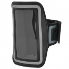 Stylish Sports Gym Armband Case for Iphone 4 / 4S - Black + Grey