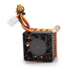 Replacement Cooling Fan for PC Motherboard / North Bridge / South Bridge - Golden + Black (4cm)