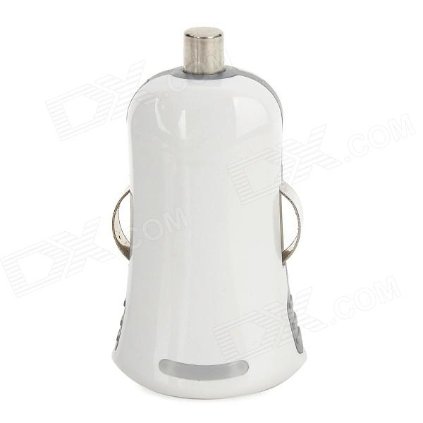 Mini Car Cigarette Powered Charger Charging Adapter for Iphone - White
