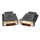 DVI-I (24+5) Male to HDMI Female Adapters - Black (2 PCS)