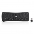 KK11 Wireless 2.4GHz Optical 400dpi 78-Key 6-Axis Keyboard Air Mouse - Black (3 x AAA)