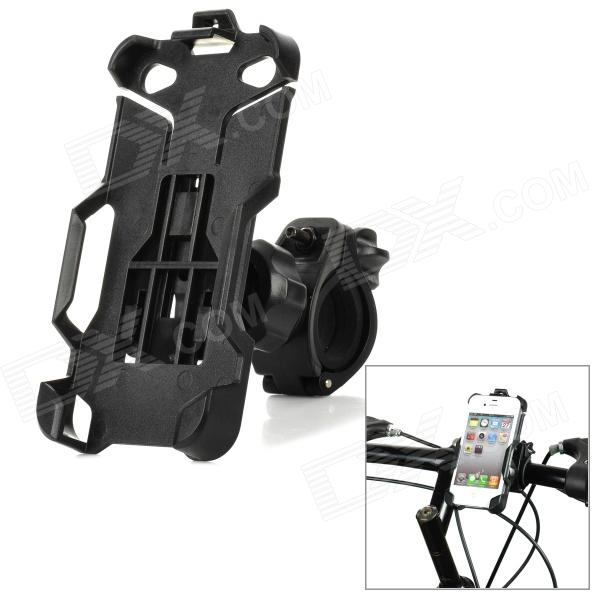 Bike Bicycle Mounting Clamp Holder for Iphone 4 / 4S - Black