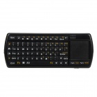 GCD T0598 Handheld Bluetooth v3.0 71-Key Keyboard w/ Touchpad / Flashlight - Black