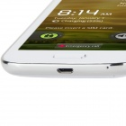 "S4 Android 4.0 GSM Bar Phone avec 4.5 ""Capacitive Screen, Quad-Band et Wi-Fi-Blanc"