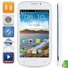 "i8730 Android 4.0.4 GSM Bar Phone w/ 4.3"" Capacitive Screen, Quad-Band and Wi-Fi - White"
