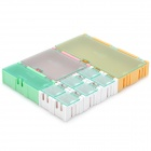 V82 Detachable Four Sizes Electronic Components Storage Case - Multicolored
