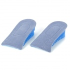 Silicone Heightening Insole.- Blue