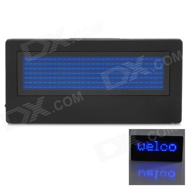 B729SB 203 LEDs Digital Name Tag - Black + Blue (2 x CR2032) мужские купальные плавки desmiit s701