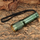 UltraFire SH-9W CREE XR-E Q5 200lm 5-Mode Memory White Flashlight - Army Green (1 x 16340 / CR123A)